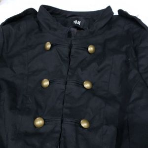 H & M military style jacket